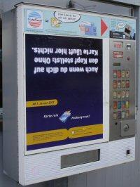 Zigaretten ec-Karte ab 2007